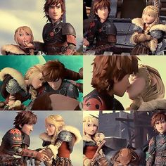 Hiccup and Astrid | How To Train Your Dragon 2 | HTTYD2