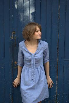 Moun [couture et péripéties]: # Tuto, le col de la robe Sureau.