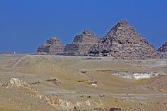Pyramides des Reines - Gizeh