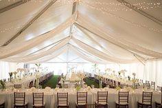 White Wedding Reception in Seaside, Florida