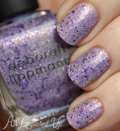deborah lippmann do the mermaid nail polish swatch Deborah Lippmann The Mermaids Summer 2013 Nail Polish Swatches & Review