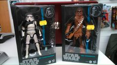 Star Wars black edition action figures