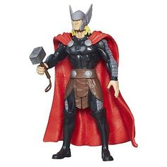Thor 4 Inch Action Figure - Marvel Universe @ niftywarehouse.com #NiftyWarehouse #Thor #Marvel #Avengers #TheAvengers #Comics #ComicBooks