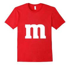 Amazon.com: Halloween T-shirt - M&M Candy Costume: Clothing