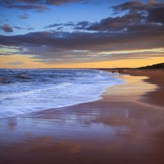 Balmedie Beach after Sunset, Aberdeenshire, Scotland