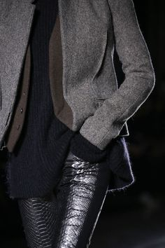 Haider Ackermann, Fall 2014