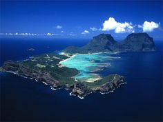 Exotic places in new zealand | Lord Howe Island, Australia #travel #exotic #getaway #australia # ...