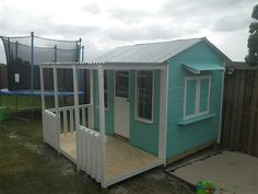 Our new enclosed cubby house. #cubbyhouse #cubby #cubbies
