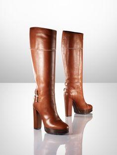 Ralph  Heila Vachetta High Heel Boot