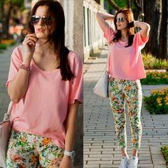 .@Viktoriya Sener   New outfit in blog@ootdmagazine #zara @zara_international #flower #ootd #inst...   Webstagram - the best Instagram viewer