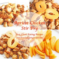 Clean Eating Dinner Idea – Apricot Chicken Stir Fry Recipe | Diet Meals and Easy Healthy Recipes that Help Me Lose Weight