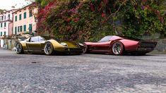 Lamborghini Miura FR on Behance New Sports Cars, Sport Cars, Expensive Sports Cars, Lamborghini Miura, Automobile, Amazing Cars, Exotic Cars, Custom Cars, Concept Cars