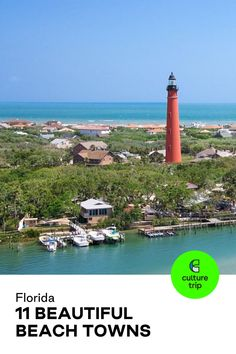 Florida is teeming with scenic beaches on both the Gulf Coast and the Atlantic Ocean. Here's our guide to our favorite beach towns in the Sunshine State that aren't Miami. . . #CultureTrip #ForCuriousTravellers #Travel #Florida #FloridaKeys #USA #KeyWest #Seaside #StPetersberg #BeachLife #Staycation #SummerVacation 📸. Jupiterimages Visit Florida, Florida Keys, Gasparilla Island, Surfing Destinations, Fernandina Beach, New Smyrna Beach, Cocoa Beach, Sanibel Island, Most Beautiful Beaches