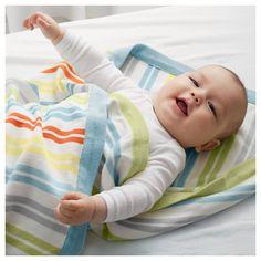 IKEA - DRÖMLAND Baby blanket multicolor