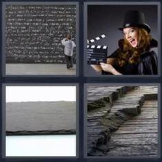 4 fotos 1 palabra pizarra llena - Pulsa sobre la imagen para ver la solución. ^_^