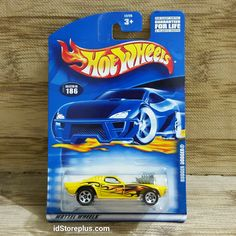 HOT WHEELS RODGER DODGER Yellow Collector No. 186