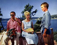 Top six films filmed on the French Riviera during the fifties and sixties: Bonjour Tristesse, 1958 Starring Jean Seberg, Deborah Kerr and David Niven