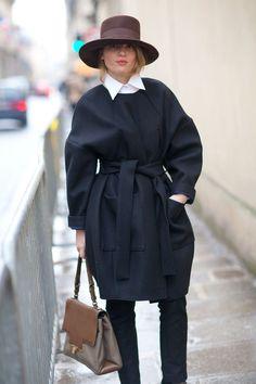Street Style: The Couture Crowd  - HarpersBAZAAR.com