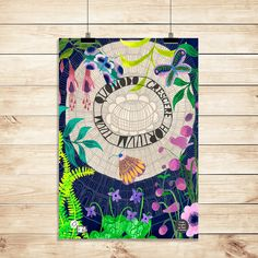 Gardeners Delight Linen Tea Towel | The Finders Keepers Online Marketplace Gouache Painting, Painting & Drawing, Finders Keepers, Online Marketplace, Beautiful Artwork, Tea Towels, Watercolor, Create, Drawings