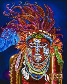 Caribbean Art board link
