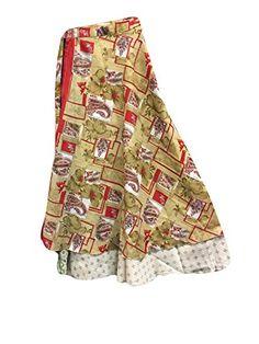 Womens Wrap Around Skirt Sari Vintage Silk Two Layer Reve... https://www.amazon.com/dp/B01N4GAP86/ref=cm_sw_r_pi_dp_x_gZXzybQS9AGYG