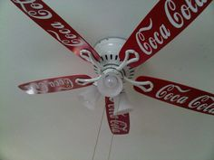 I did this for my aunt for her Coca Cola themed kitchen!