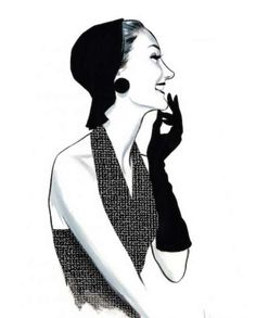 Fashion illustrations for the Museum of Costume by Fernando Vicente - 3