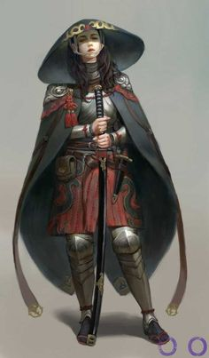 Tagged with art, fantasy, inspiration, female armor, character design; Fantasy Character Design, Character Design Inspiration, Character Concept, Character Art, Dungeons And Dragons, Fantasy Girl, Fantasy Characters, Female Characters, Ronin Samurai