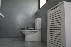 Poate ca va doriti renovare sau amenajare?  ...renovarea bailor cu microciment ( se aplica direct peste gresia existenta, durata execuție 4 zile)  ...renovarea pardoselii acoperită cu gresie, nu mai este necesară demontarea ei și aplicarea sapei ulterioare.  #microciment Toilet, Flush Toilet, Toilets, Toilet Room, Bathrooms