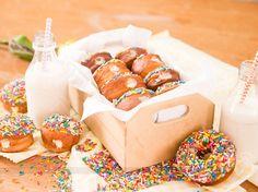Donuts Recheado Leite Condensado | Receitas de Minuto - A Solução prática para o seu dia-a-dia!