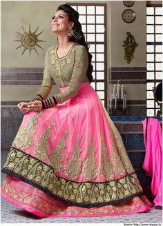 Net #Anarkali Suits