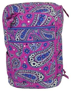 Amazon.com  Vera Bradley Laptop Backpack (Updated Version) with Solid Color  Interiors (Baroque)  Shoes a0a8166482a04