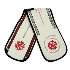 Tudor Great Hall oven gloves
