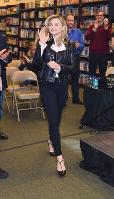 CHLOE MORETZ at The 5th Wave Book and Movie Promotion in Newnan