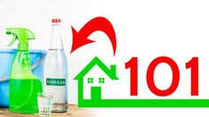 101 ways to use vinegar around the home