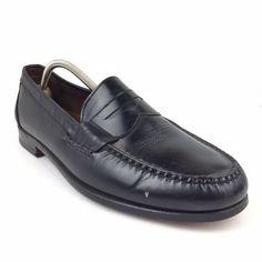 d232d934d3f Men s Allen Edmonds Walden Black Leather Dress Shoes Size 12 Medium Loafers  - Dress Shoes Men
