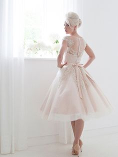 This dress is made to order and turn around time is around 5-7 weeks. If you need rush service, please contact us prior to placing your order. Tulle, Lace, Sati