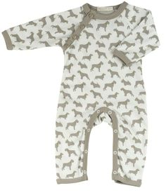 ed03fb26fe Pigeon Baby Romper Dog Tupe is stylish and practical baby essential in  super soft fair trade organic cotton