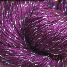 Silk Yarn - Lyba / lurex Silk 003 Felt Hearts, Merino Wool