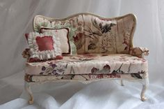 https://flic.kr/p/7PFvdx | The French style - sofa №1003 | Sofa: made by JuliaGart, wood craquelure, 2 pillows. SOLD