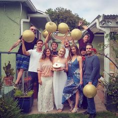 """#tbt to my """"Sun Goddess Garden Party"""" celebrating my 26th birthday this June! Thank you all for making my day so special  #happybirthday #sungoddess #goldparty #gardenparty #gold #light #love #friends #birthday #happiness #lifeincolor #livetoday #bestfriends #throwbackthursday"""