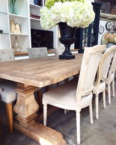 For The Artisan  Canalside Interiors Artisan Dining Table. Available in 3 Sizes. In Stock Now.  OPEN 7 DAYS | 38 Burrows Rd Alexandria  www.canalside.com.au  #furniture #canalsideint #canalsideinteriors #Sydney #Alexandria @canalsideint