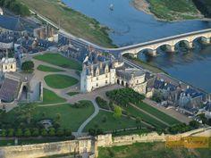 Photo aérienne du Château d'Amboise