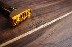Custom logo Branding Iron with custom stamp with by vonHanke