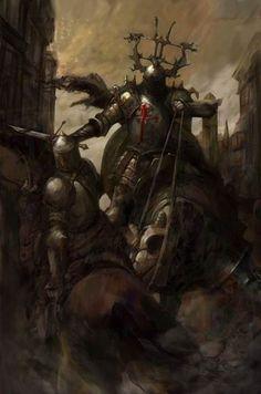 Crusader by Justin Sweet