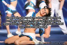 I love cheerleading<3