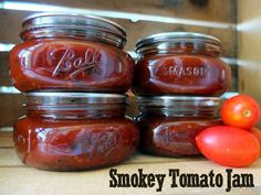 Smoky Tomato Jam Recipe - Putting Up With Erin
