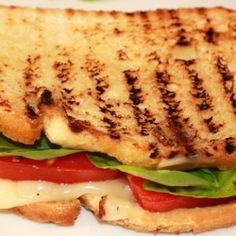 Caprese Panini Recipe by curtsdelectables