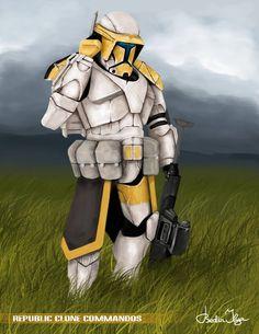 Star Wars Republic Commando HOPE Squad commission by FoxbatMit.deviantart.com on @DeviantArt