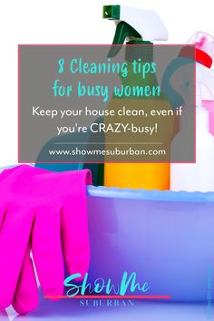 Want a clean house, but work full time? Or maybe you're crazy busy! These cleaning tips and hacks for busy people will help you keep your house clean in the time you have available. Cleaning Checklist, Cleaning Tips, Youre Crazy, Refrigerator Organization, Organized Kitchen, Home Management Binder, Bathroom Cleaning Hacks, Crazy Busy, Family Organizer